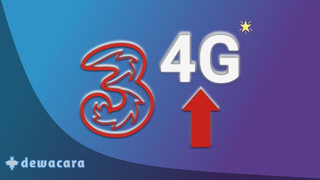 Cara upgrade 3g ke 4g kartu tri