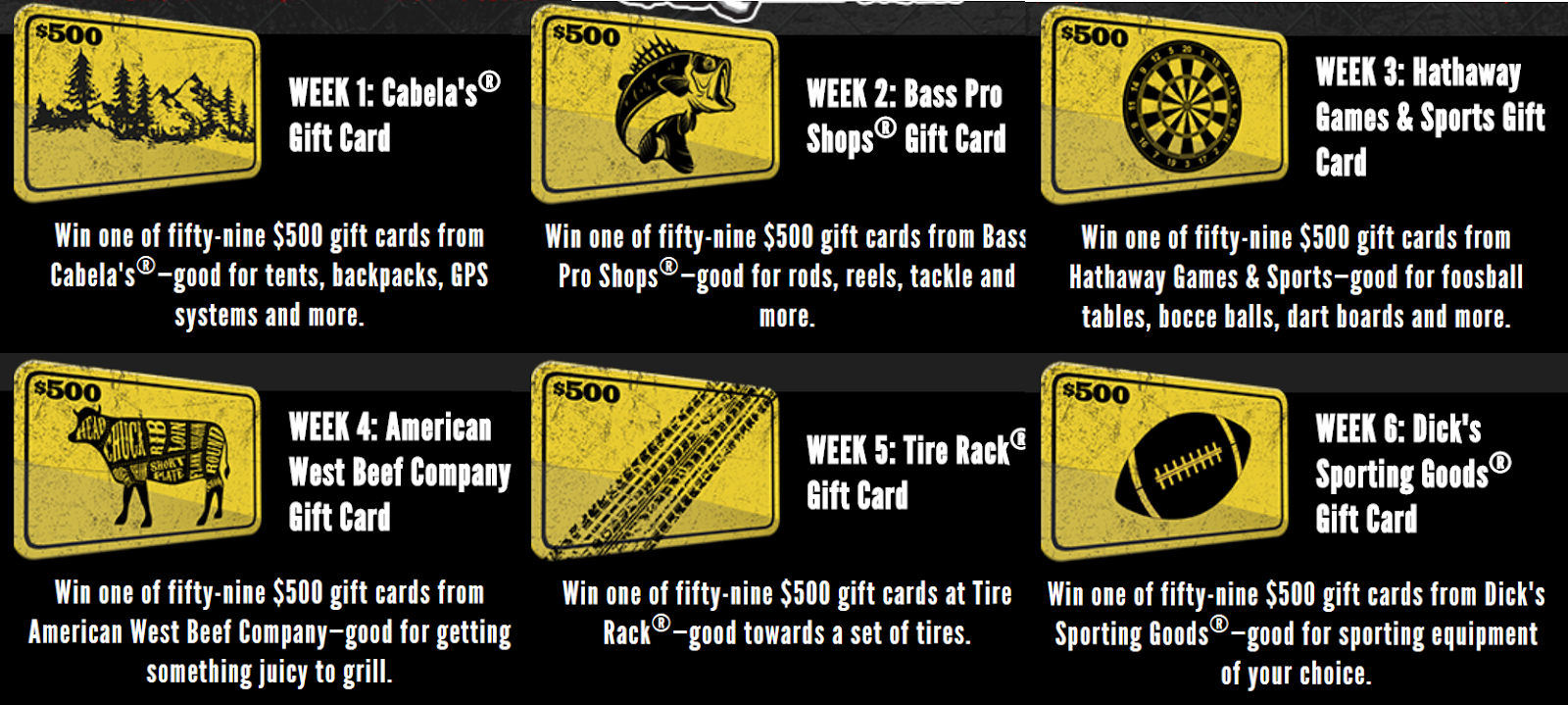 Grizzly On The Hunt Gift 500 Gift Card Giveaway 360 Winners Each