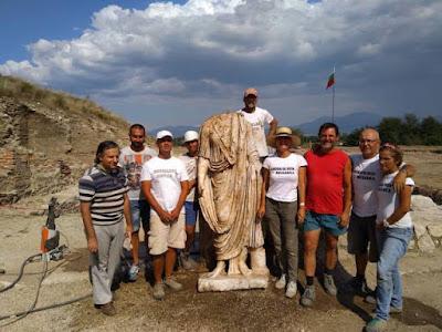 Άγαλμα ρωμαίου δικαστή βρέθηκε στην Ηράκλεια Σιντική