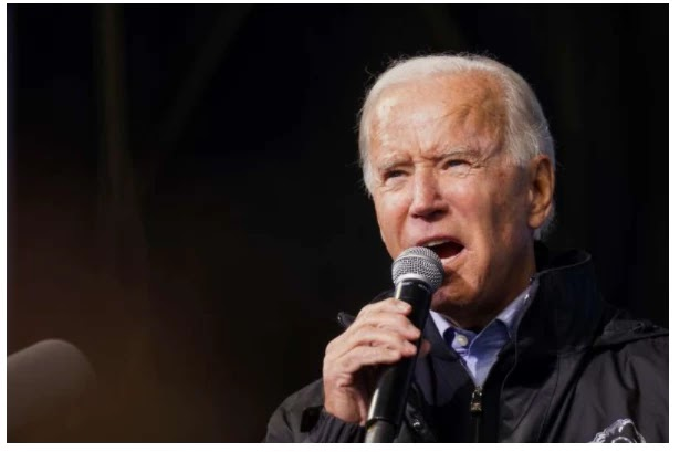 U.S. Democratic presidential candidate Biden campaigns in Philadelphia