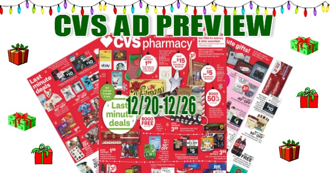 CVS Ad Scan 12/20 to 12/26