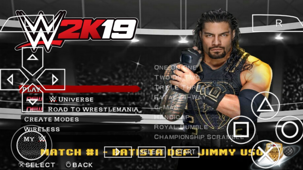 250mb Real Wwe 2k19 Ppsspp Android Download Wwe 2k19 Psp Mod For Android 100 Working In Device