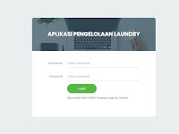 Aplikasi Laundry Menggunakan PHP Native & MySQL