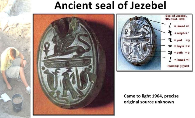 The Seal Of Queen Jezebel