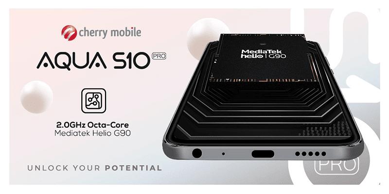 It features the MediaTek Helio G90 in its core