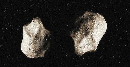 Asteroides binários 'gêmeos' passam perto da Terra - um raríssimo evento - Capa
