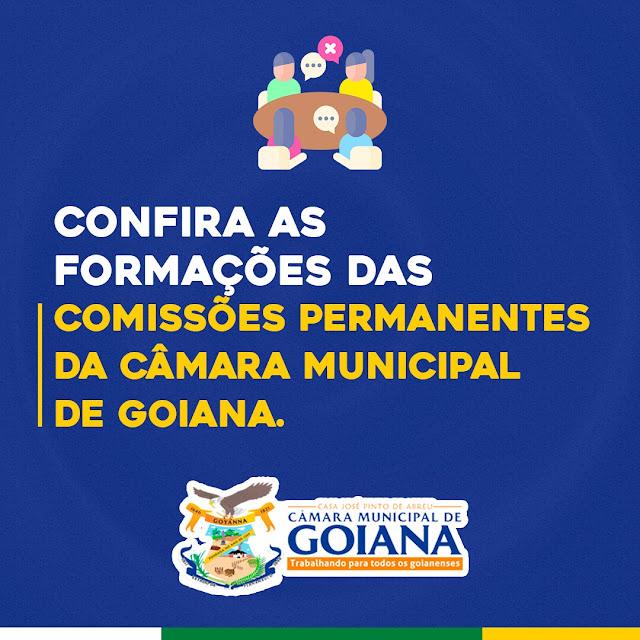 Confira como ficaram as formações das Comissões Permanentes da Câmara Municipal de Goiana