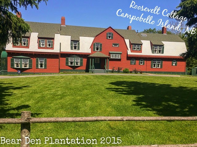 Roosevelt Cottage on Campobello Island, New Brunswick Canada