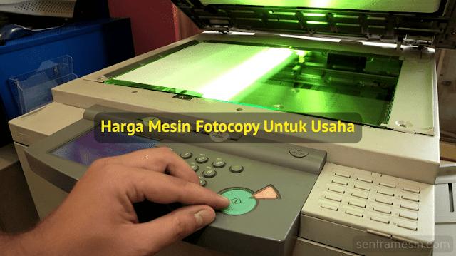 harga mesin fotocopy untuk usaha