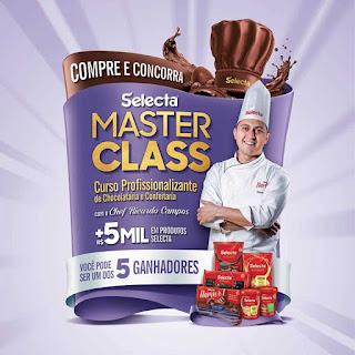 Promoção Selecta Master Class