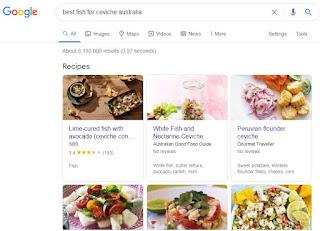 best fish for ceviche australia