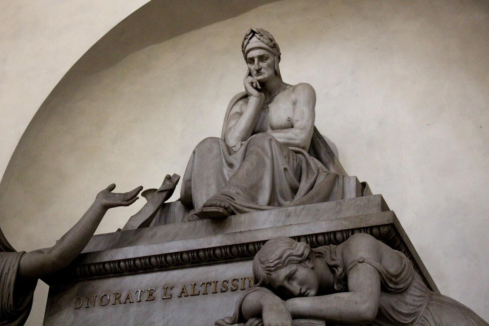 Memoriale Dante Alighieri, Santa Croce, Firenze