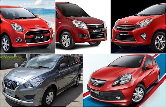 Spesifikasi dan Harga 4 Mobil Murah Di Indonesia