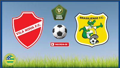 Vila Nova x Brasiliense começam neste domingo (14) a decidir uma vaga na final da Copa Verde