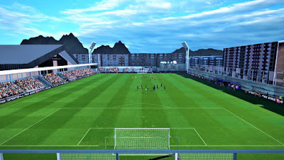 PES 2017 Stadium Estade Comunal La Vella - Andorra