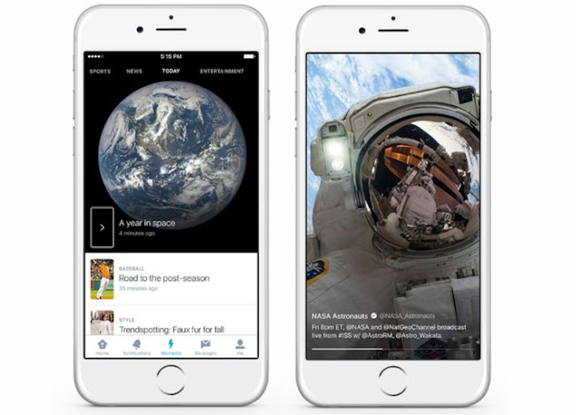 """Twitter-Moments Now you can create your own """"Moments"""" on Twitter from iPhone and iPad Technology"""