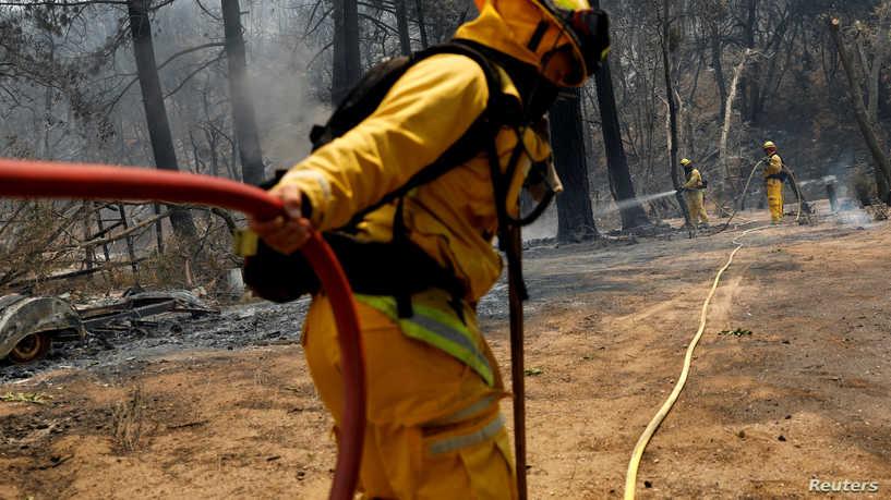 كورونا يعرقل جهود إطفاء غابات كاليفورنيا.. ما علاقة السجناء؟