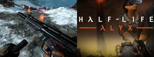 Differences of Frostpoint VR Proving Grounds vs Half Life Alyx