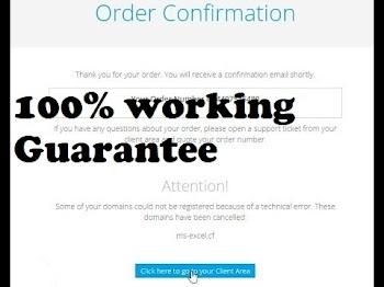 How To Solve Freenom Technical Error Problem, Registration Problem | 100% working Guarantee
