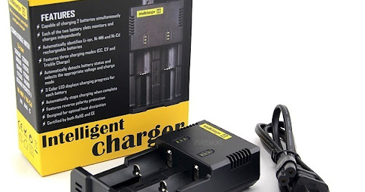 USA BLOWOUT: NITECORE I2 CHARGER - $8.89