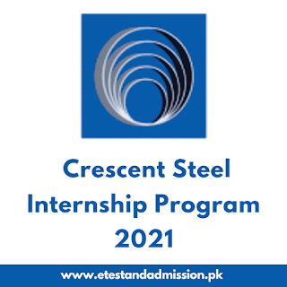 Crescent Steel and Allied Products Internship Program 2021