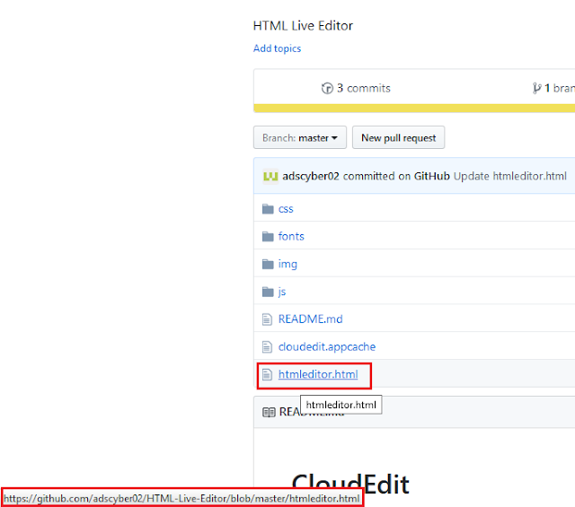 right click and copy the link file htmleditor.html