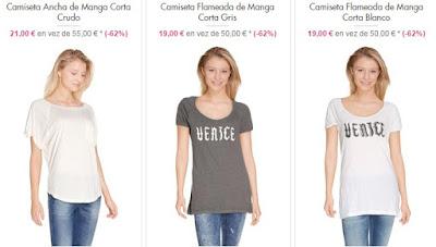 camisetas mujer diesel
