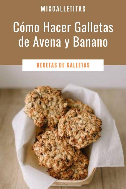 Cómo hacer galletas de avena y banano