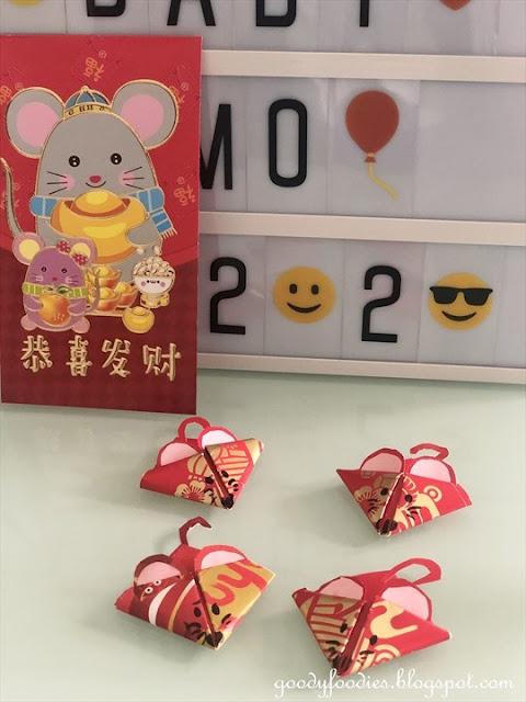 Cute Rat Chinese New Year Craft