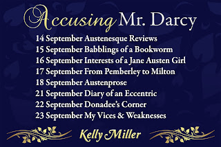 Blog Tour: Accusing Mr Darcy by Kelly Miller