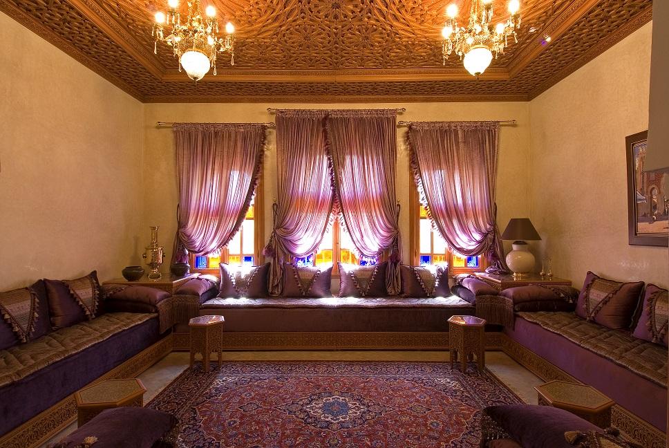 salon marocain lalla chafya d coration salon marocain. Black Bedroom Furniture Sets. Home Design Ideas