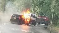 Perampok Ini Membakar Mobilnya Sebelum Kabur dengan Mobil yang Baru Dirampasnya