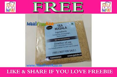 Free Sample Tea Masala