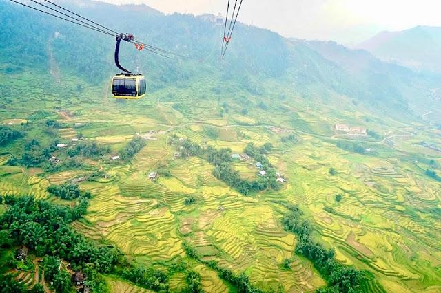 Mount Fansipan seductive in the season of ripe rice