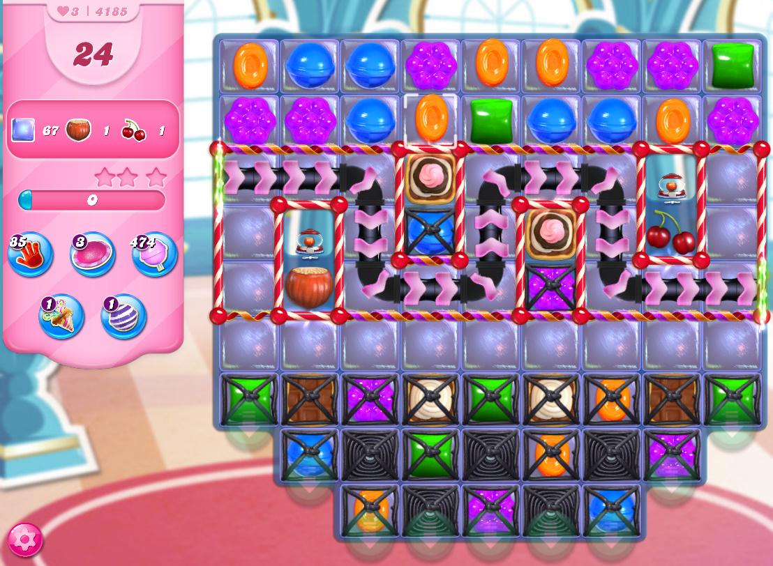 Candy Crush Saga level 4185
