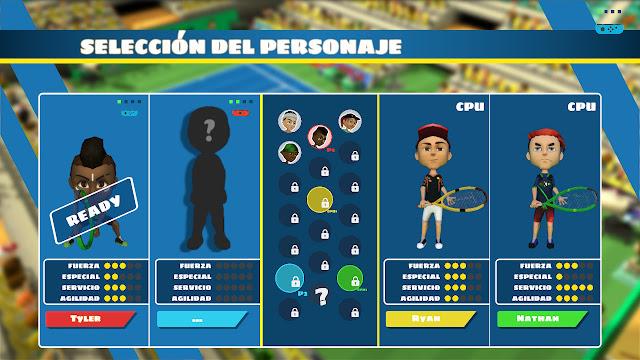 Jugadores Instant Sports Tennis