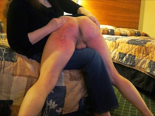 Fm exposed and soundly spanked - 3 part 7
