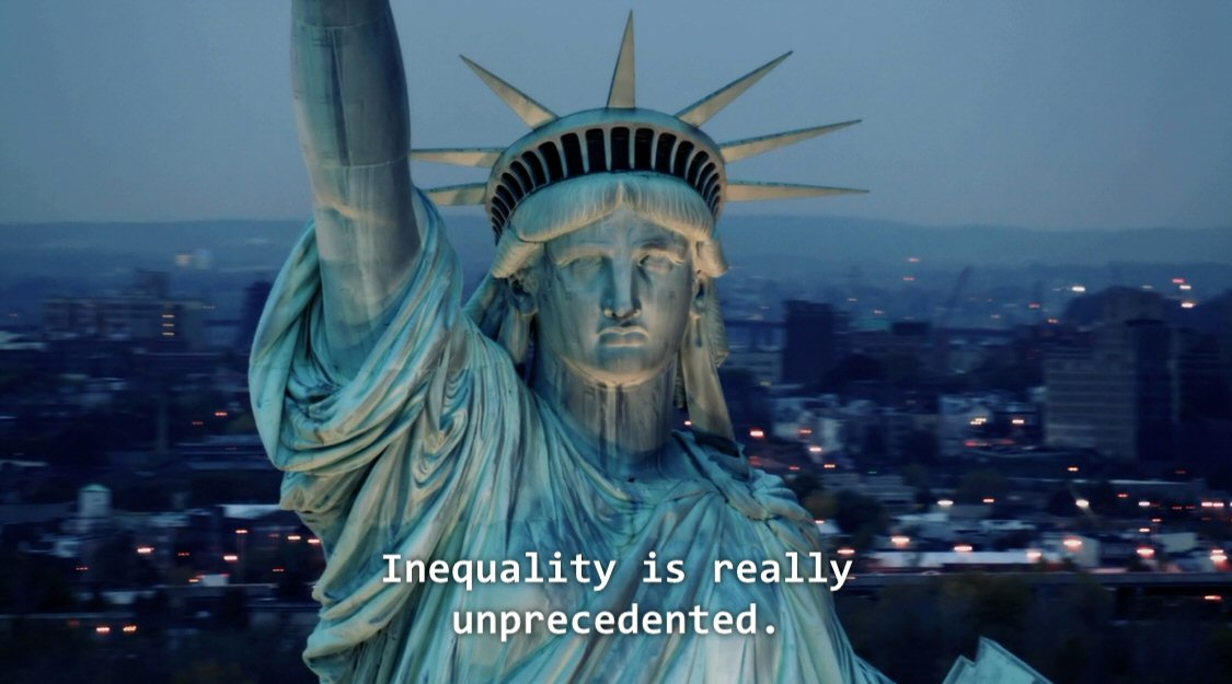 the american dream is just a The great success of societies that are as spectacularly unequal as the us is the indoctrination of the populace into believing that in so far as they are excluded from the wealth of such societies it is because of their own inadequacies.