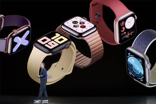 أبل تعلن عن ساعة Watch Series 5 بسعر 399 دولار