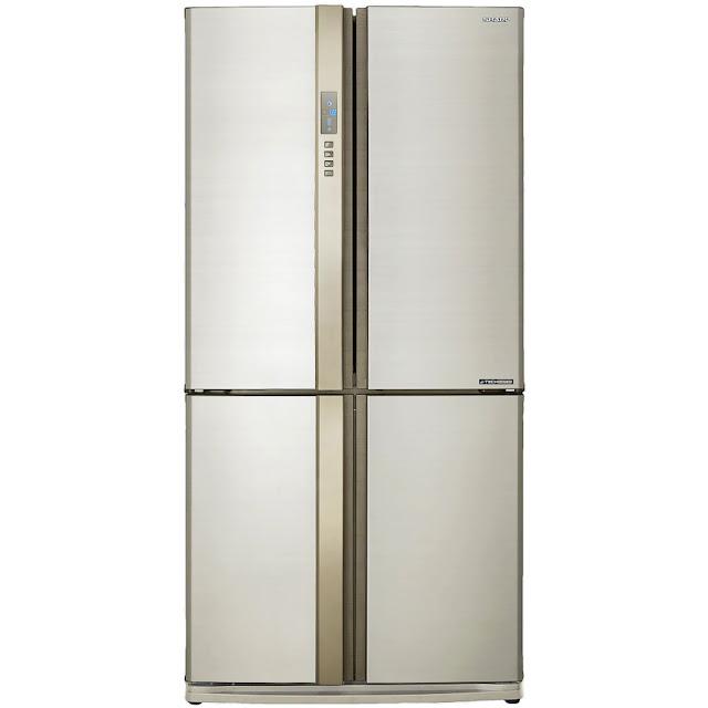 Tủ lạnh Sharp Inverter SJ-FX680V-WH