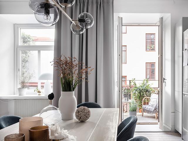 Дизайн-проекты. Скандинавский интерьер с открытой планировкой в Швеции