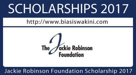 The Jackie Robinson Foundation Scholarship 2017