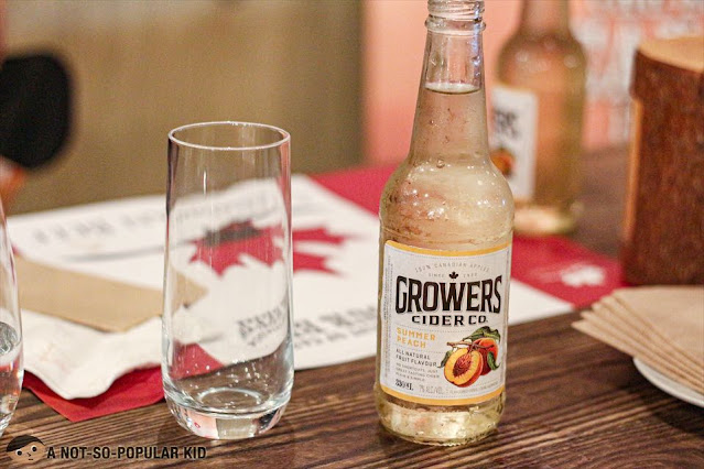 Dry Premium Cider (Summer Peach) - Growers - Canadian Drink