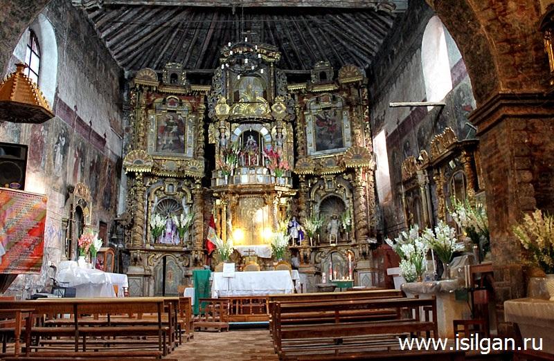 Город Чинчеро (Chinchero). Священная Долина Инков. Перу