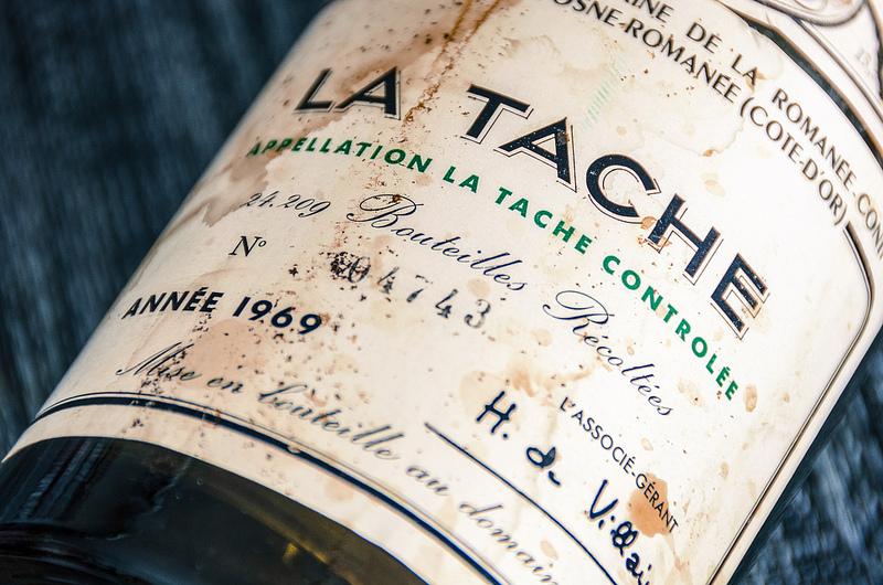 Domaine de la Romanée-Conti La Tache Wine Bottle