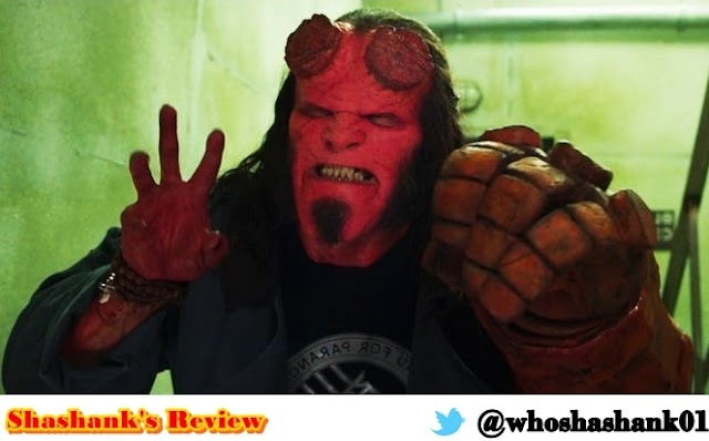 David Harbour HELLBOY Review