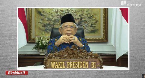 Disebut jadi Wapres yang Terlupakan, Maruf Amin: Kalau Berjalan Jokowi Mempersilakan Saya Lebih Dulu