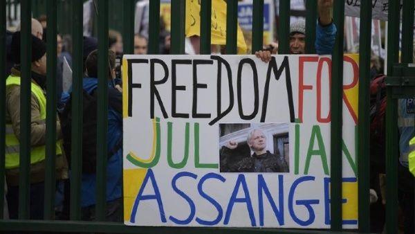 Revelan detalles de relación de la CIA con espionaje a Assange