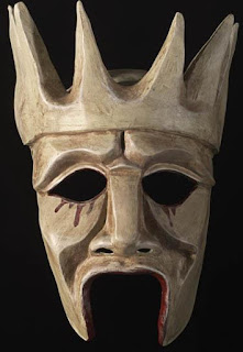 Oedipus the King theater mask used in performances