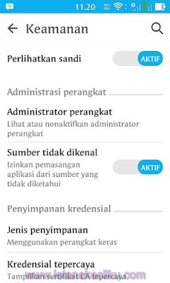 Cara sideload Aplikasi di Android